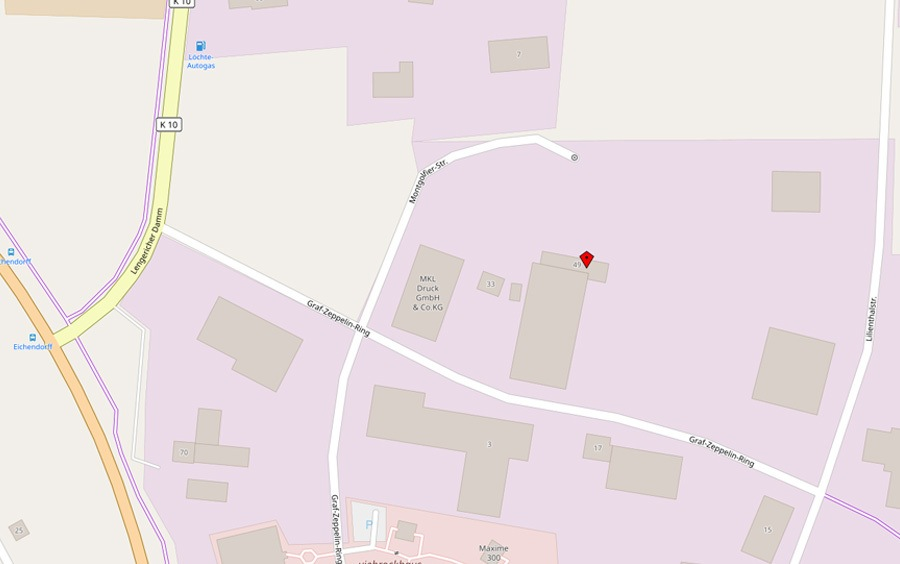 Kühn-Transport-u-Lagerungs-GmbH-Standort-Open-Street-Map